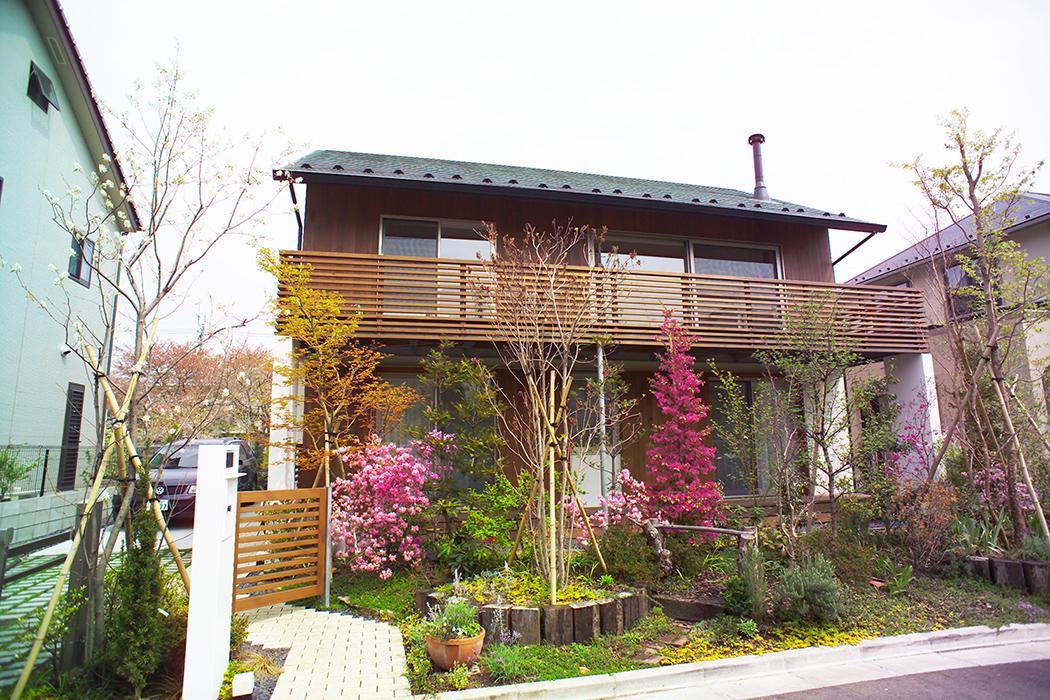 多摩川の家